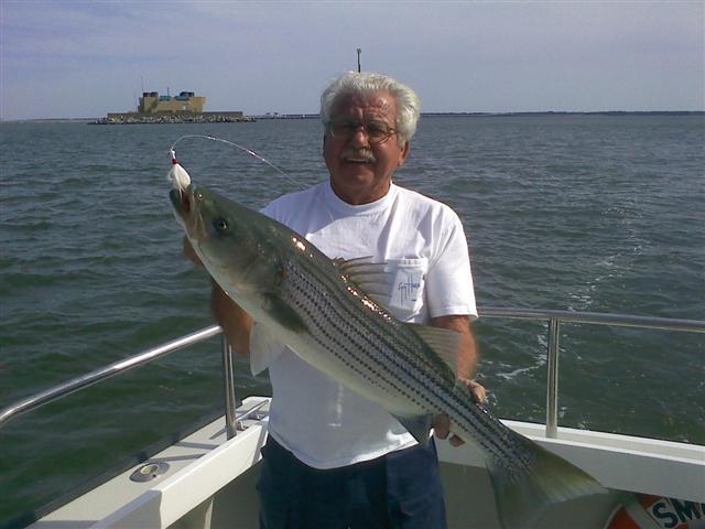Chesapeake bay rockfish charters for Chesapeake bay bridge fishing report