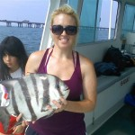 SPADEFISH Pound for pound, these fish are the best pulling fish in the Chesapeake Bay. Spadefish, which are also great to eat, are caught at the Chesapeake Bay Light Tower, offshore wrecks and also at the world famous Chesapeake Bay Bridge Tunnel from June to September.