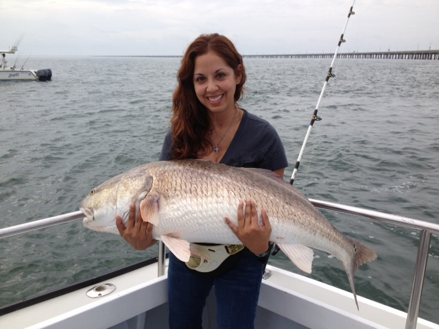 Awesome red drum fishing today captain hogg 39 s charter for Red drum fishing