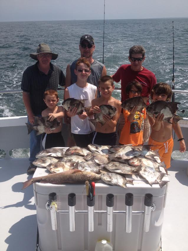 Great summer fishing continues captain hogg 39 s charter for Lower chesapeake bay fishing report