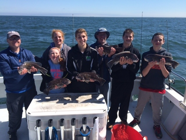 Tautog fishing charter chesapeake bay charter fishing for Chesapeake bay charter fishing
