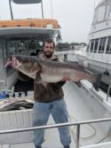 Big striped bass aka rockfish are here give me a call we still have dates available