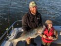 Virginia striped bass charter fishing