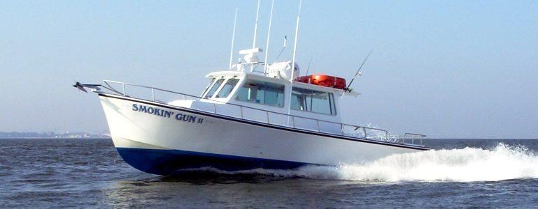 captain hogg charter boat smokin gun 2